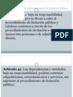 ley de de adquisiciones y arrendamientos de mexico