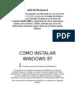 1informe la instalacion de windows