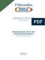 Manual de manutenção Geladeira Electrolux