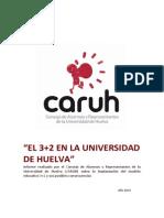 Informe 3+2 CARUH