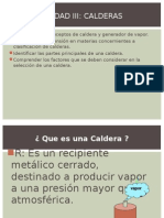 Calderas Clasificacion