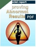 Abnormal Results - Btrd-Blood Test