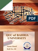 QEC of BAHRIA UNIVERSITY.pptx