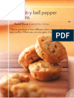 Biscuit-y Bell Pepper Muffins (Taste of Home (December & January 2009))