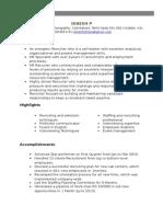 Dinesh Recruiter profile