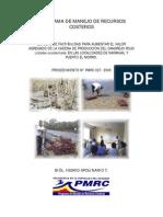 Estudio de Factibilidad Cangrejo Rojo Naranjal y Puerto El Morro