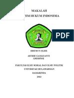 Makalah Sistem Hukum Indonesia (TUGAAASSS).docx