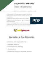 Engineering Dynamics Linear Motion