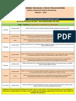 CroNograma Analise de sistemas 1 semestre uninter