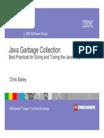 IBM Java Garbage Collection Tuning