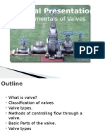 Valves Presentation