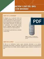 Elaboracion y Uso Del Biol Con Biograd
