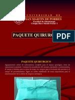 _PAQUETE QUIR€¢Ã'ºRGICO 2014-II