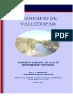 Expedientte Municipal 2010 VALLEDUPAR