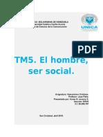 Humanismo Cristiano El Hombre, Ser Social