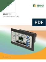 Catalogo LIM2010