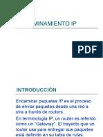 Encaminamiento Ip