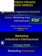 Marketing Industrial e Internacional