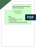 Physics BasedDistributedHydrologicModeling for FloodForecasting