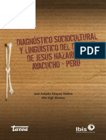 DIAGNOSTICO Sociocultural Linguistico