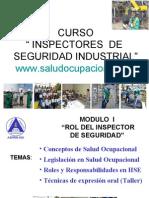 Curso Inspectores Seguridad Industrial 2010