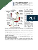 Riesgos Ergonómicos - Diez Consejos Para Mantener Una Buena Postura