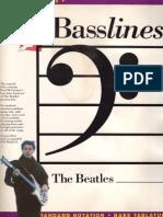 Beatles Bass Lines