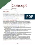 Prominence Client Focus Concept