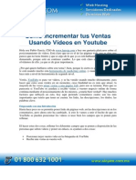 PDF Como Incrementar Tus Ventas Usando Videos en Youtube