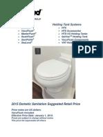 2015 Sealand Price Book
