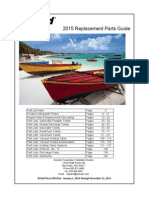 2015 Sealand Replacement Parts Guide