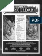 Warhammer 40K - Codex - Dark Eldar