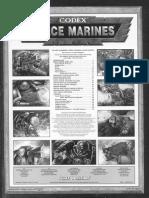 Warhammer 40K - Codex Space Marines