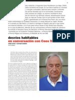 Desvios Habitables en Conversacion Con Cees Nooteboom (6495)