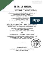 Pacheco. Arte de La Pintura. Ed.1871
