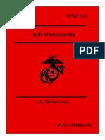 MCRP 3-1A Rifle Marksmanship
