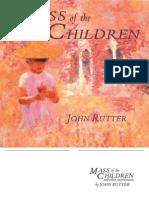John Rutter Children Mass
