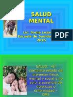 CLA 1 Definiciones Básicas de Salud Mentalsalud Mental Conceptos