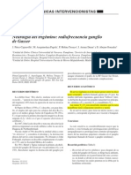 Neuralgia del trigémino-Termocoagulación del ganglio de Gasser