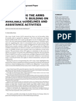 Implementing the Arms Trade Treaty