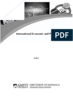 International Economic and Policy_Amity