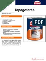 Agorex Tapagoteras - Sellante Butílico