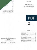Escritos de Teología 02 - Karl Rahner, SJ