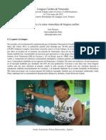 El Pemón y La Rama Venezolana de Lenguas Caribes
