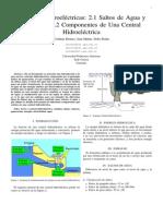 1. Centrales Hidroeléctricas 2.1 - 2.2