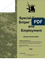 Sf Sniper Training