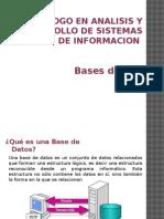 1. Introduccion Base de Datos