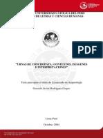 Urnas de Conchopata_contextos, Imágenes e Interpretaciones