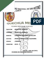 Fichero Quechua Medico