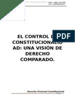 Monografia Control de Constitucionalidad
